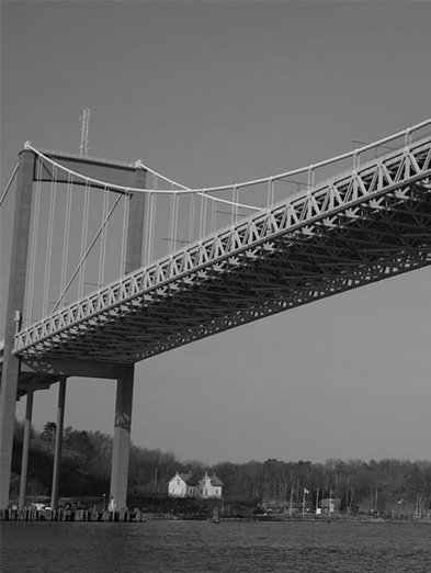 The Älvsborg Bridge over the Göta älv river in Gothenburg